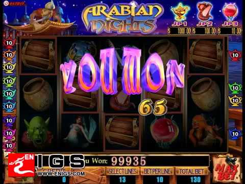 Arabian Nights Slot - 43022