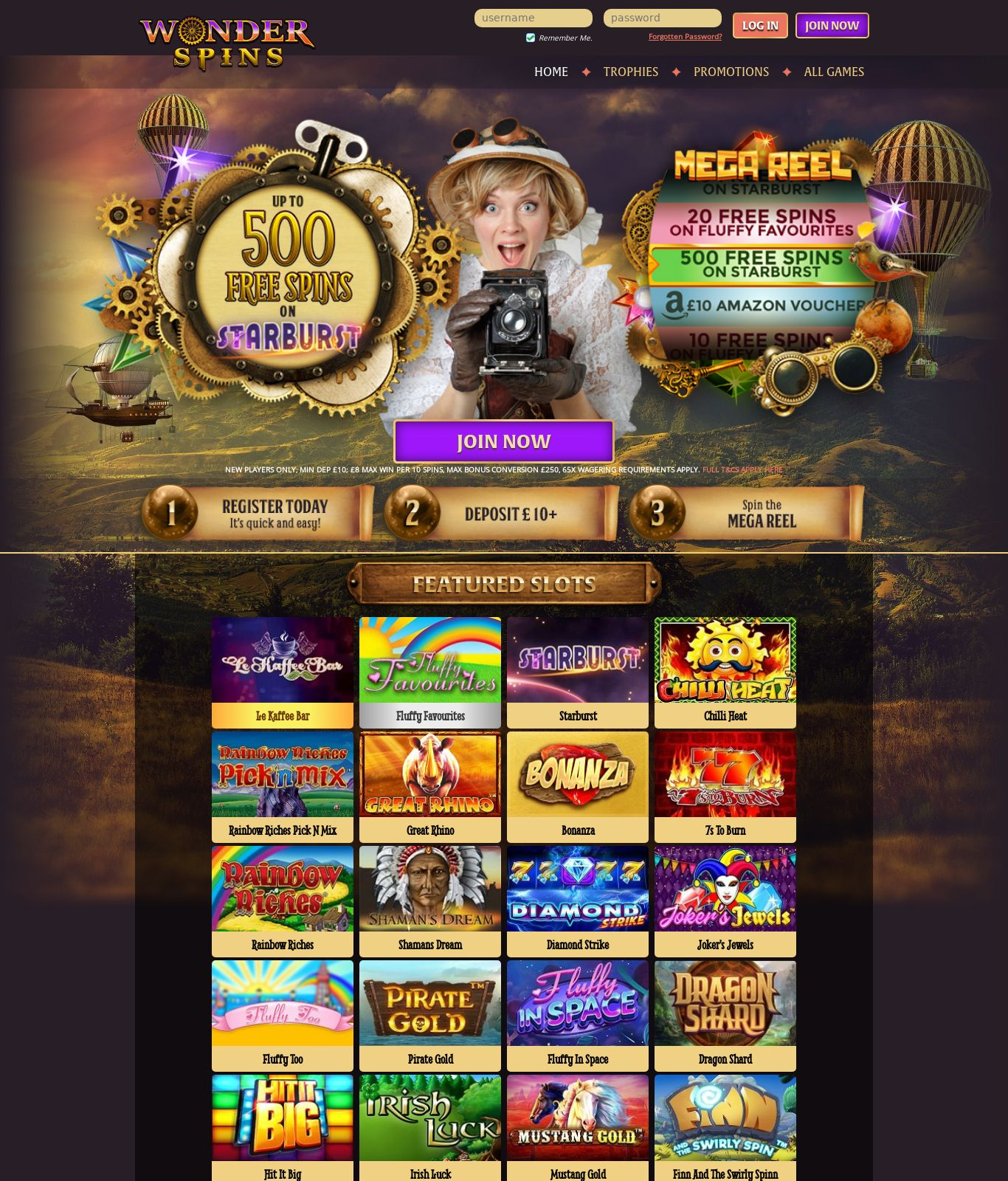 Free Spins to - 32265