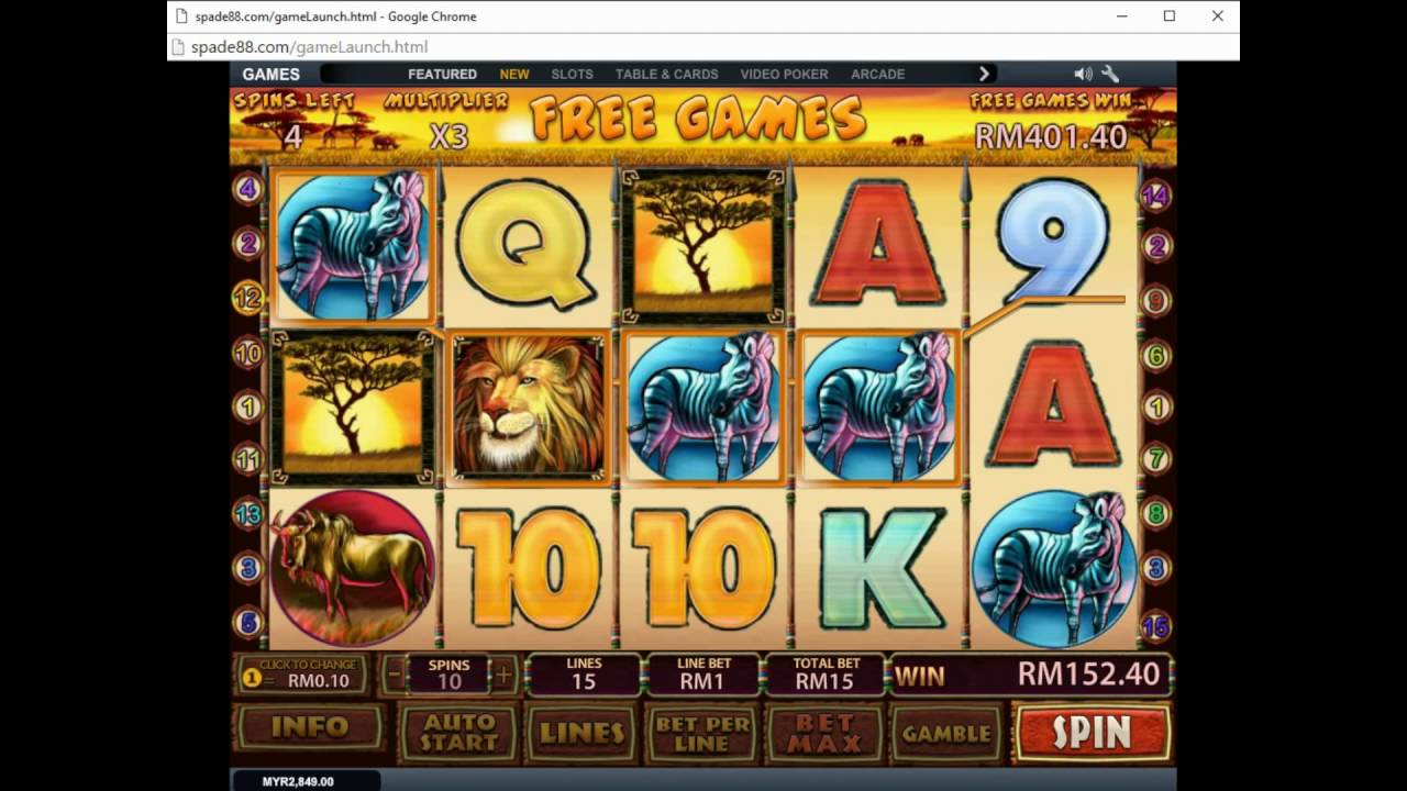 Safari Heat Slot - 62253