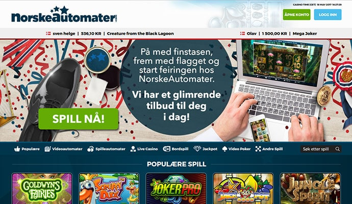 Branded Betting NorskeAutomater - 87023