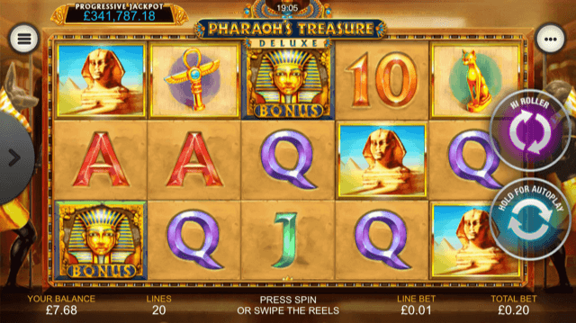 Pharaoh Treasure - 97380