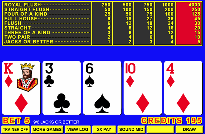 Professional Video Poker - 27630