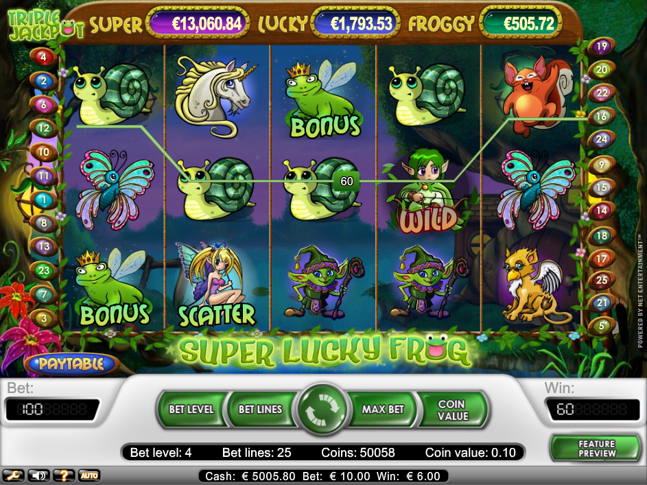 Super Lucky Frog - 46739