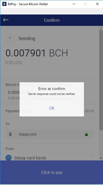 Bitpay Withdrawal - 32679