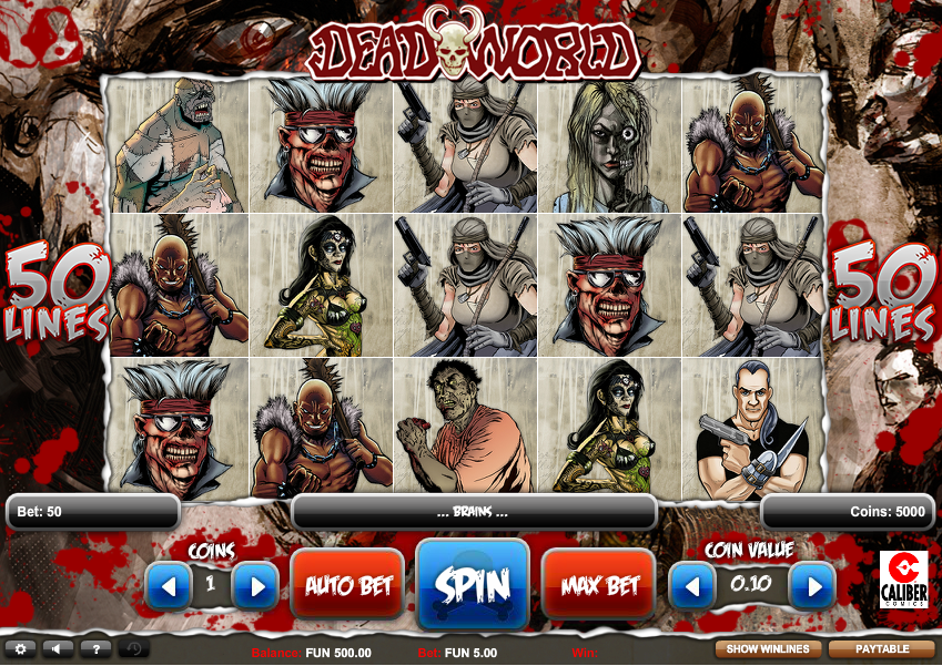 Deadworld Slot New - 88712
