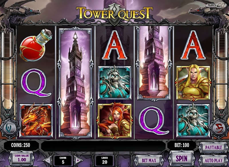 Tower Quest Slot - 37812