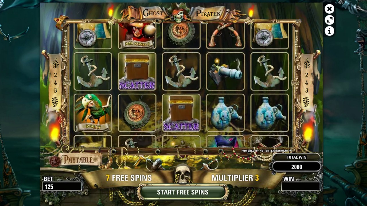 Ghost Pirates Slot - 28779
