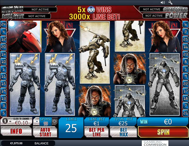 Iron Man Slot - 11570