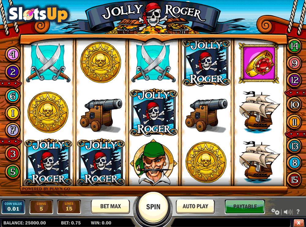 Jolly Roger Slot - 33147