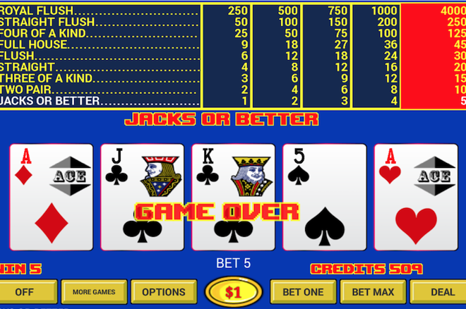 Professional Video Poker - 75918