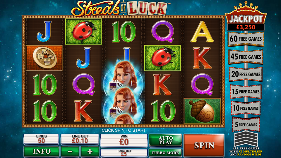 Streak of Luck - 29030