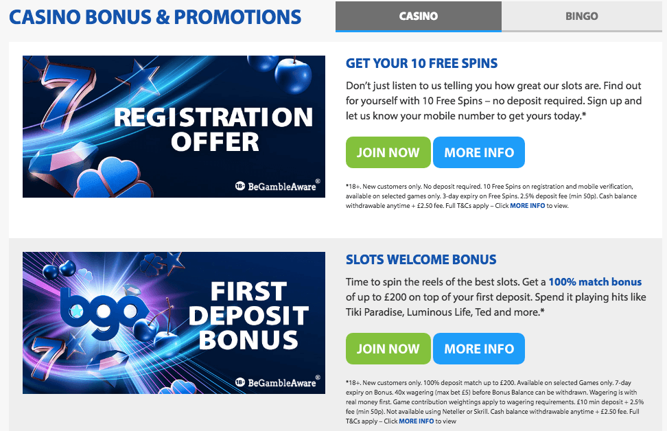 Welcome Bonus Casino - 86592